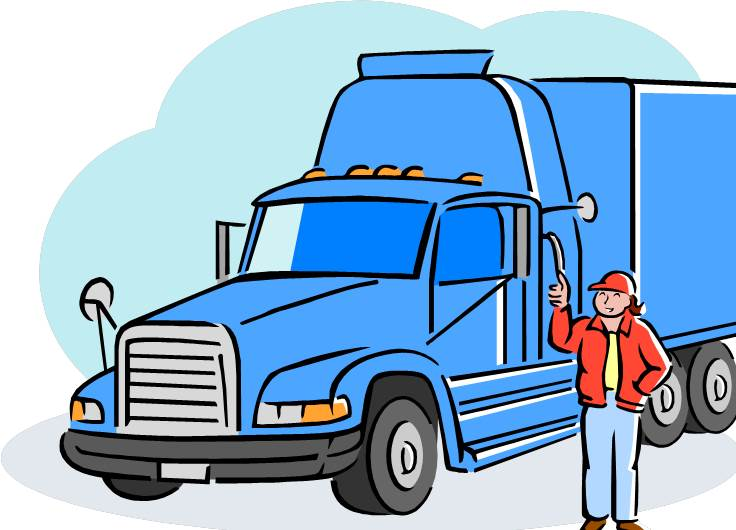 Driver clipart lorry driver. Free truck cliparts download