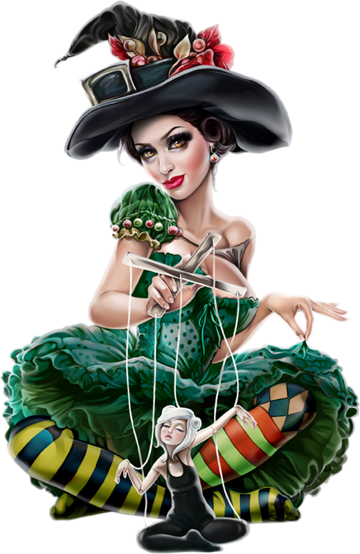 Jolie sorci re png. Witch clipart skirt