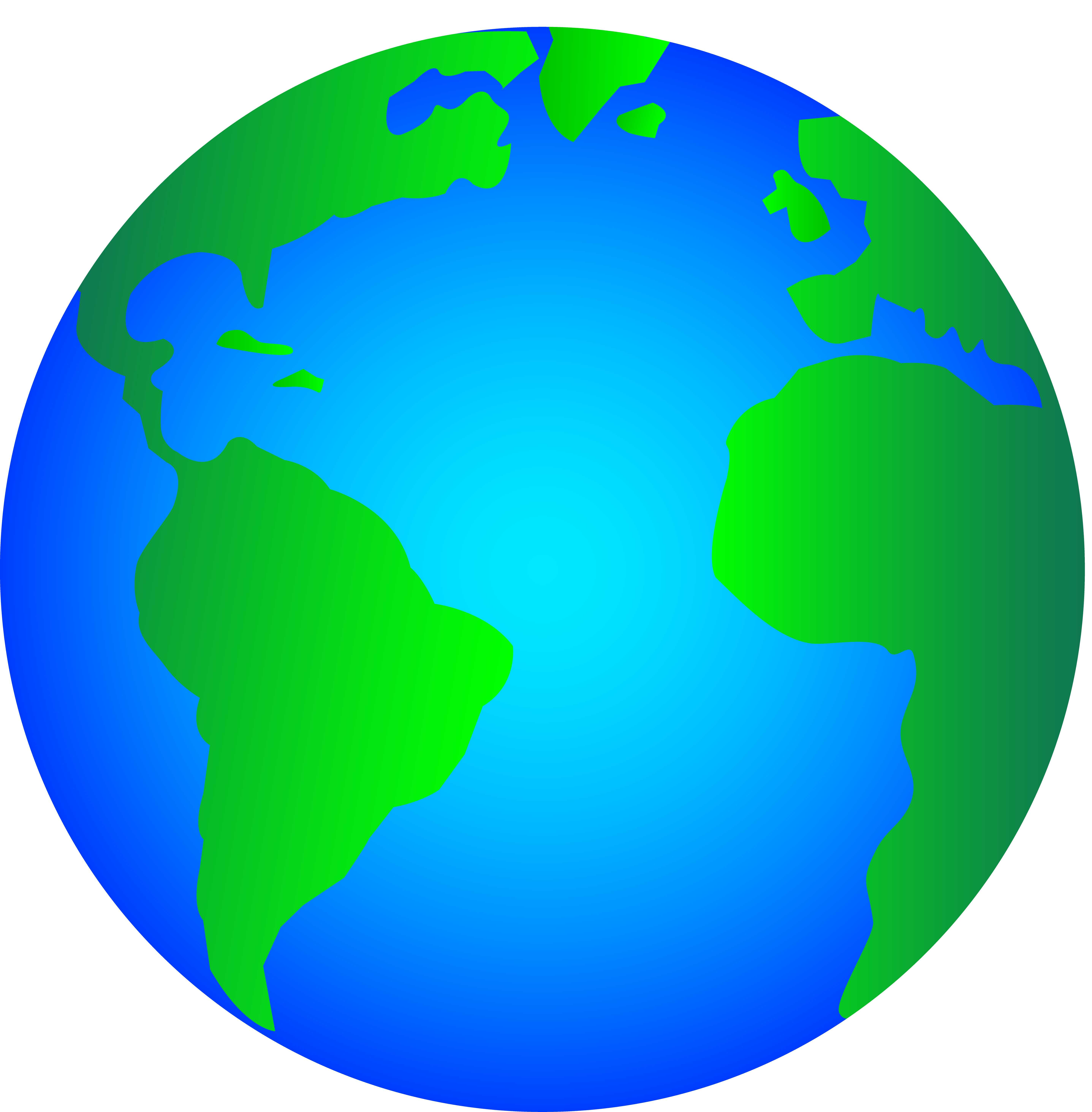 Planeten clipart animated globe. World clip art free