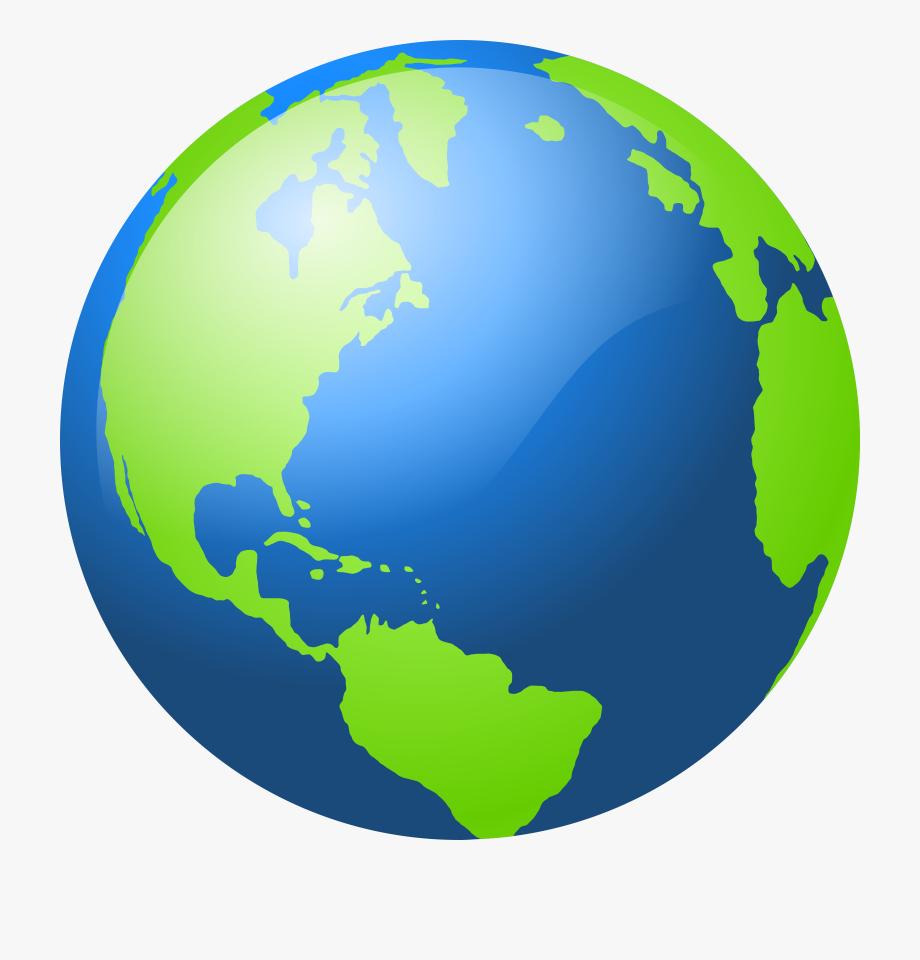 World free content clip. Globe clipart planet earth