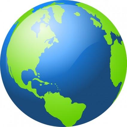 Globe clipart. World