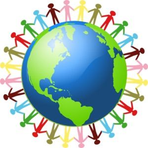 Clipart world all around. I think this image