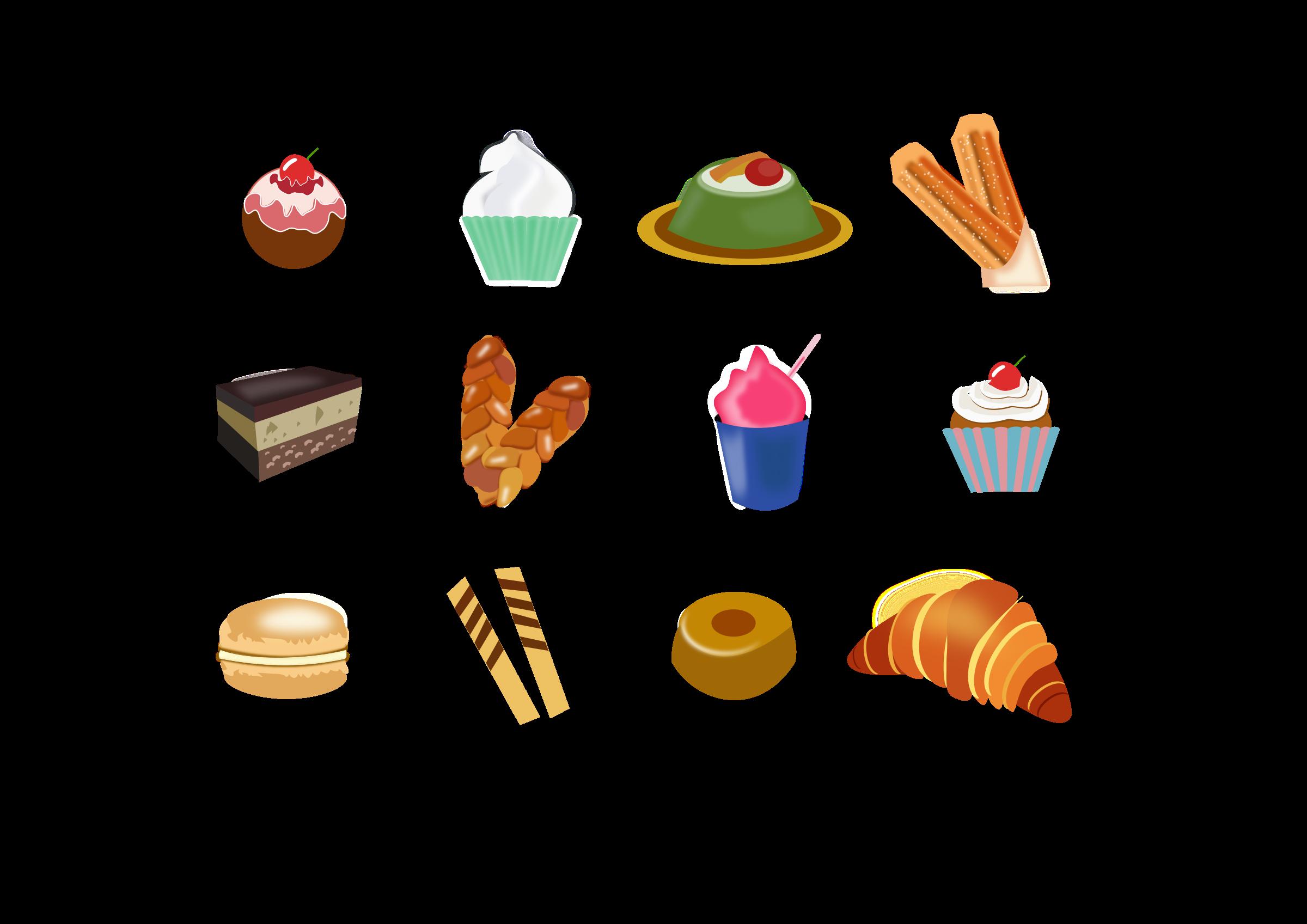 desserts clipart logo