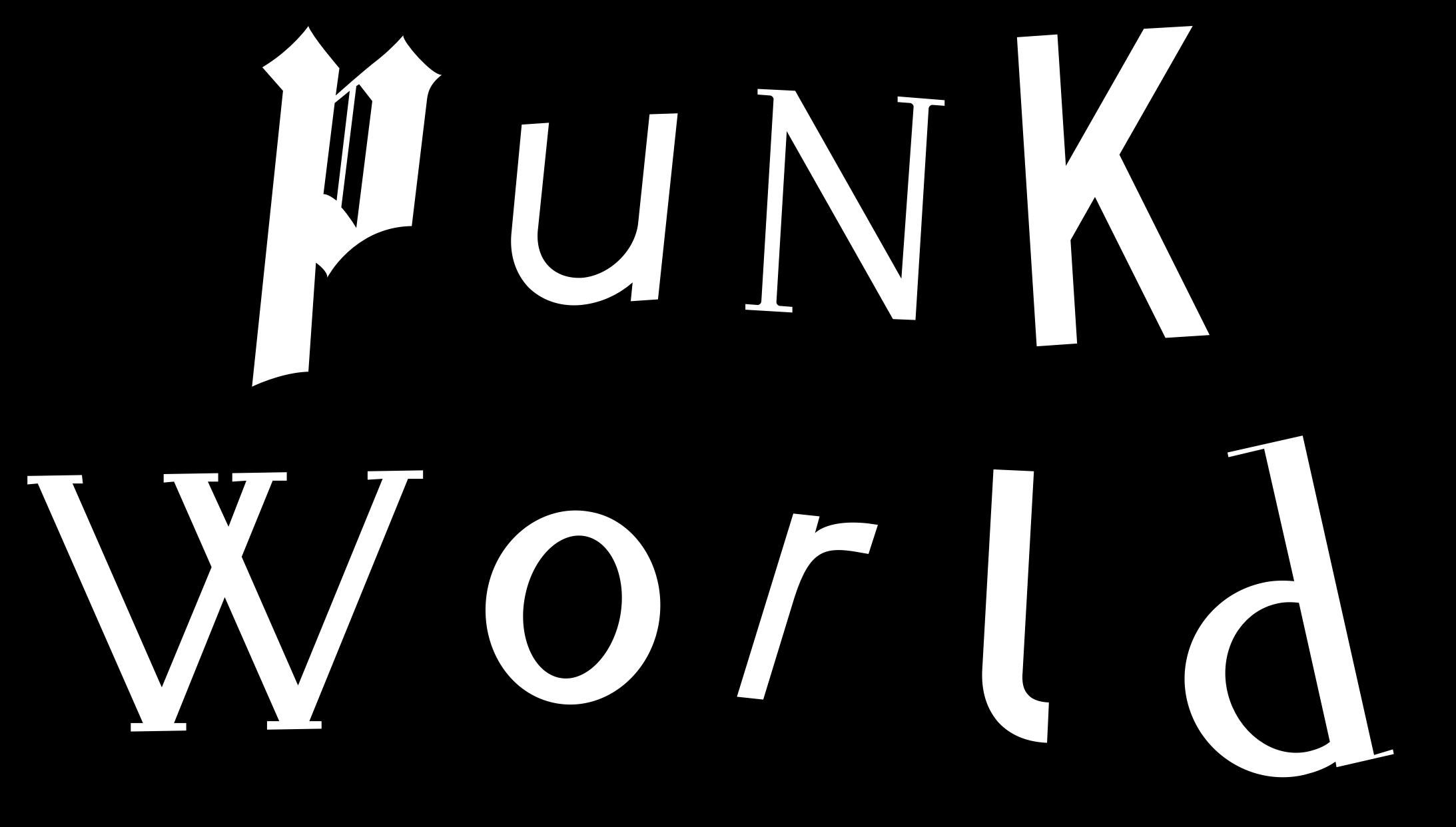 Clipart world black and white. Punk artwork big image