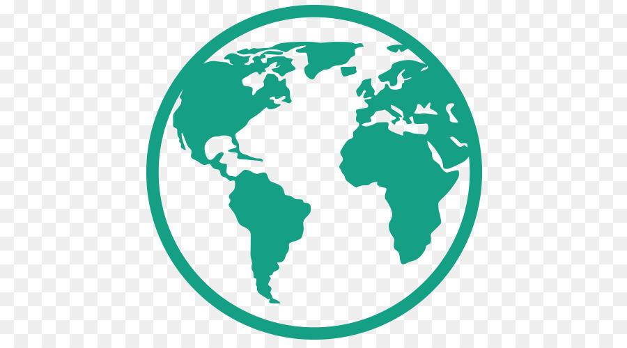Clipart world circle. Green border globe transparent