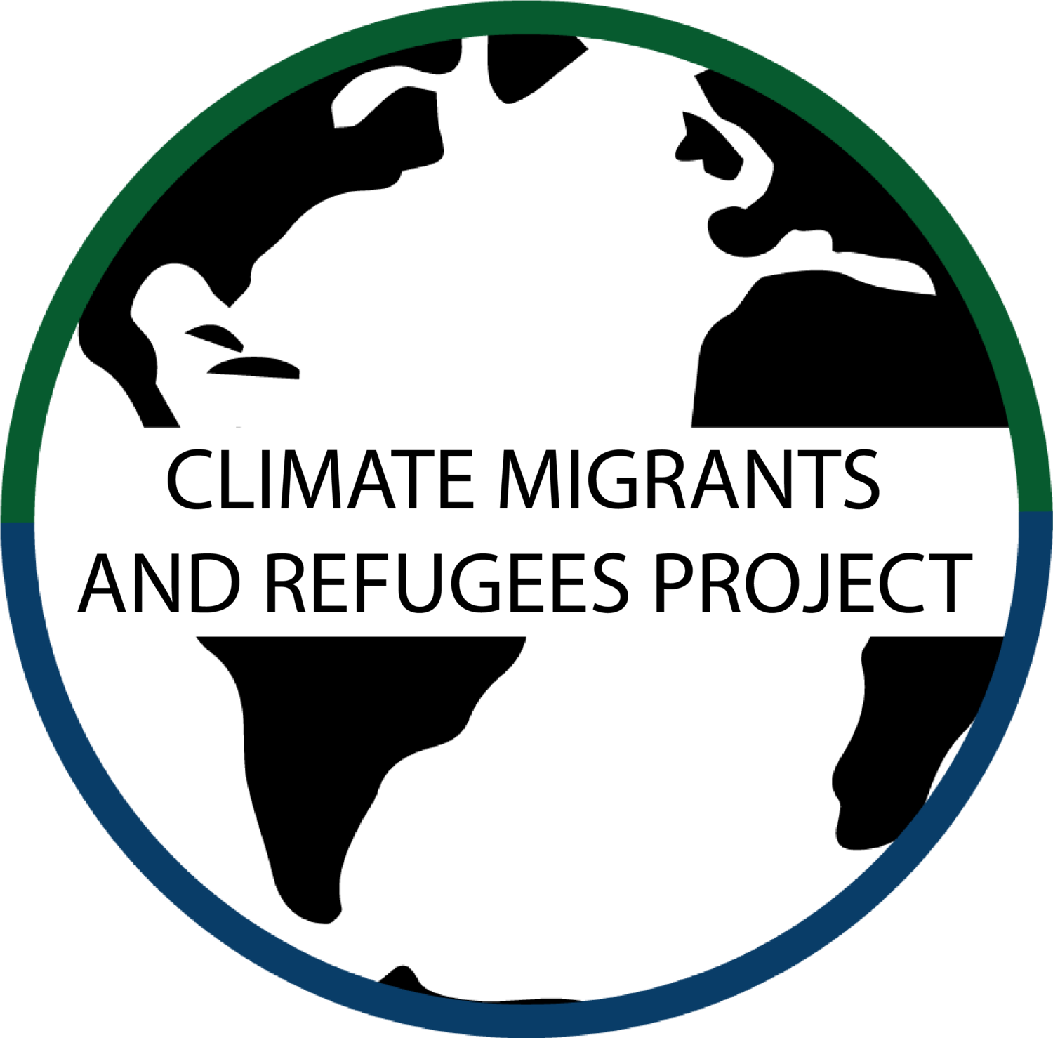 The migrants and refugees. Environment clipart climate change