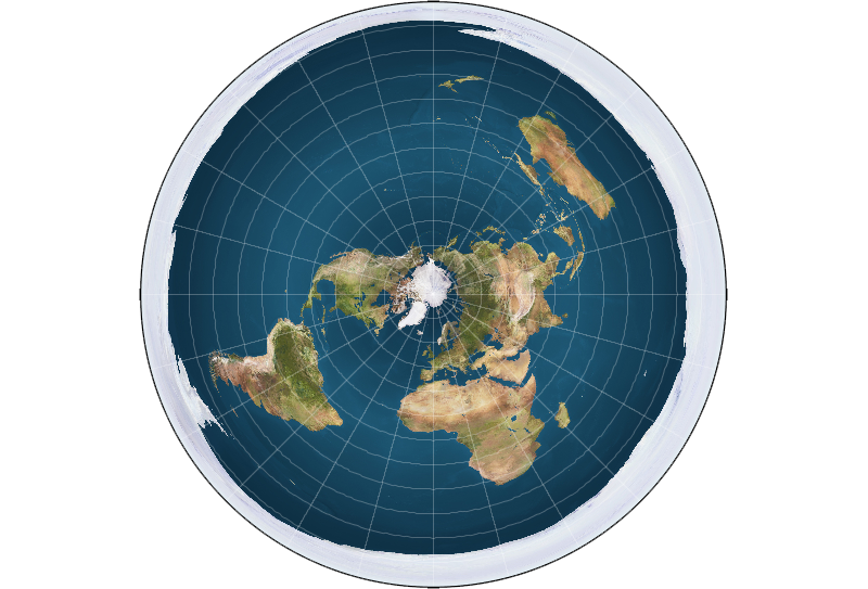 Clipart world earth round. The is flat explained