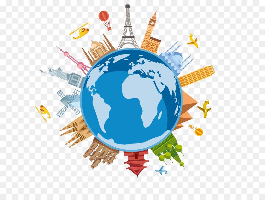 Travel globe transparent . Clipart world earth round
