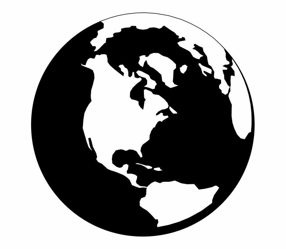 Clipart world earth round. Globe map png