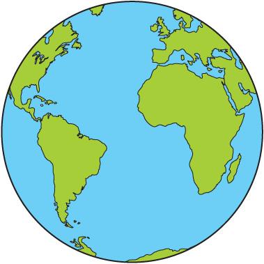 Earth clipart cute. World clip art free