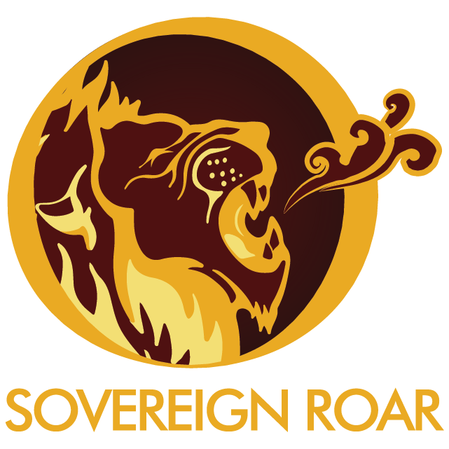 Sovereign roar proclaiming jesus. Vision clipart omniscient