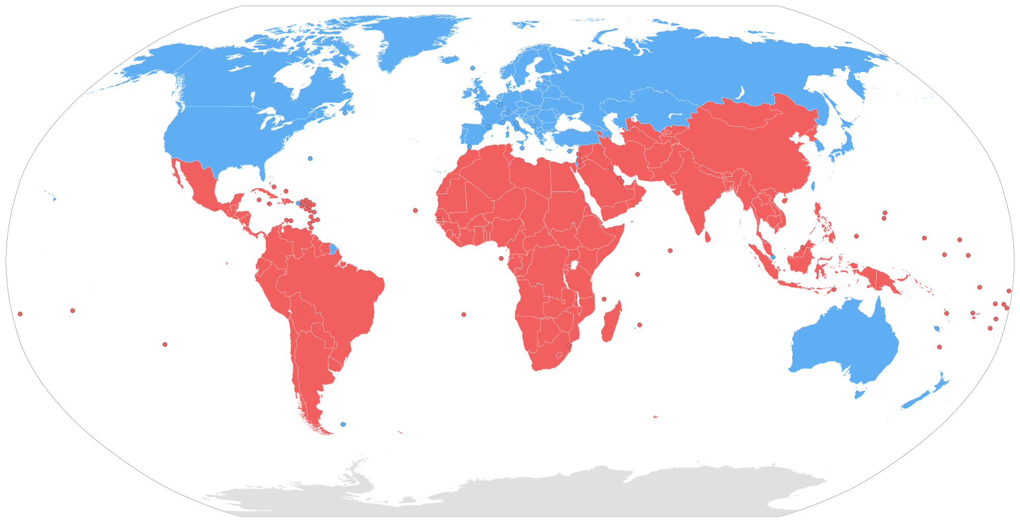 Humans clipart population global. North south divide wikipedia