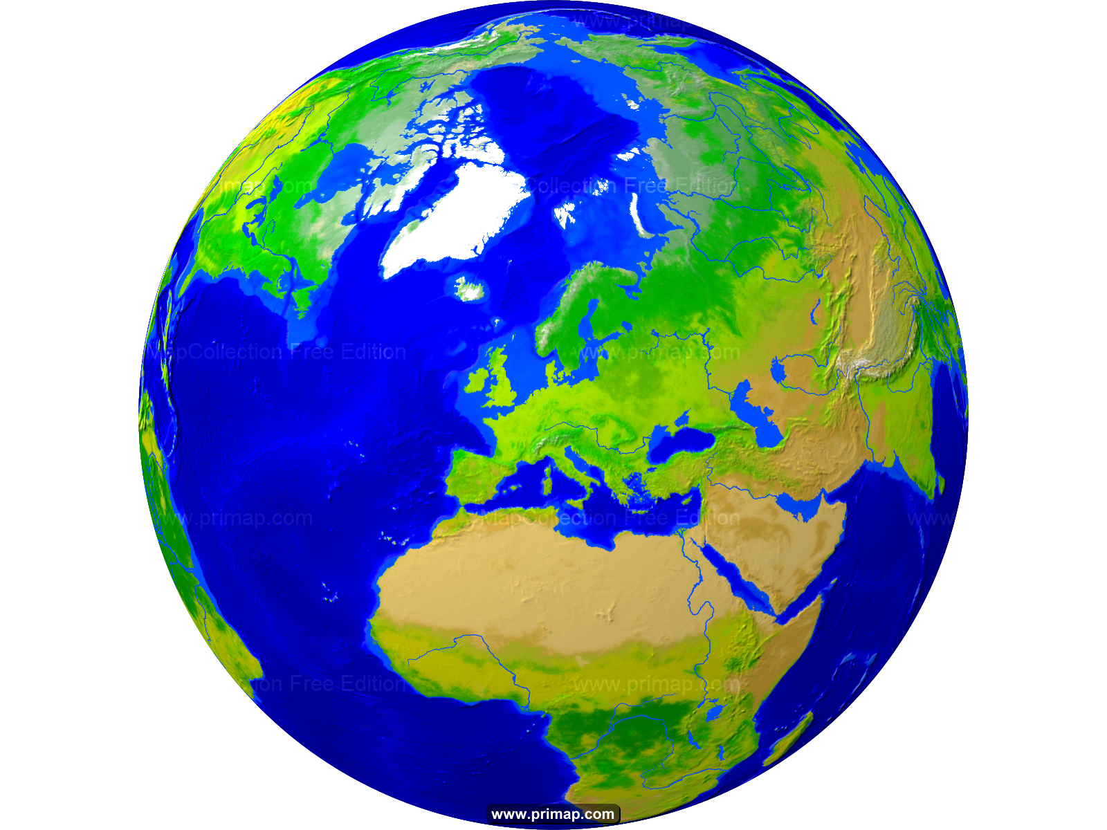 Download map major tourist. Clipart world globe europe
