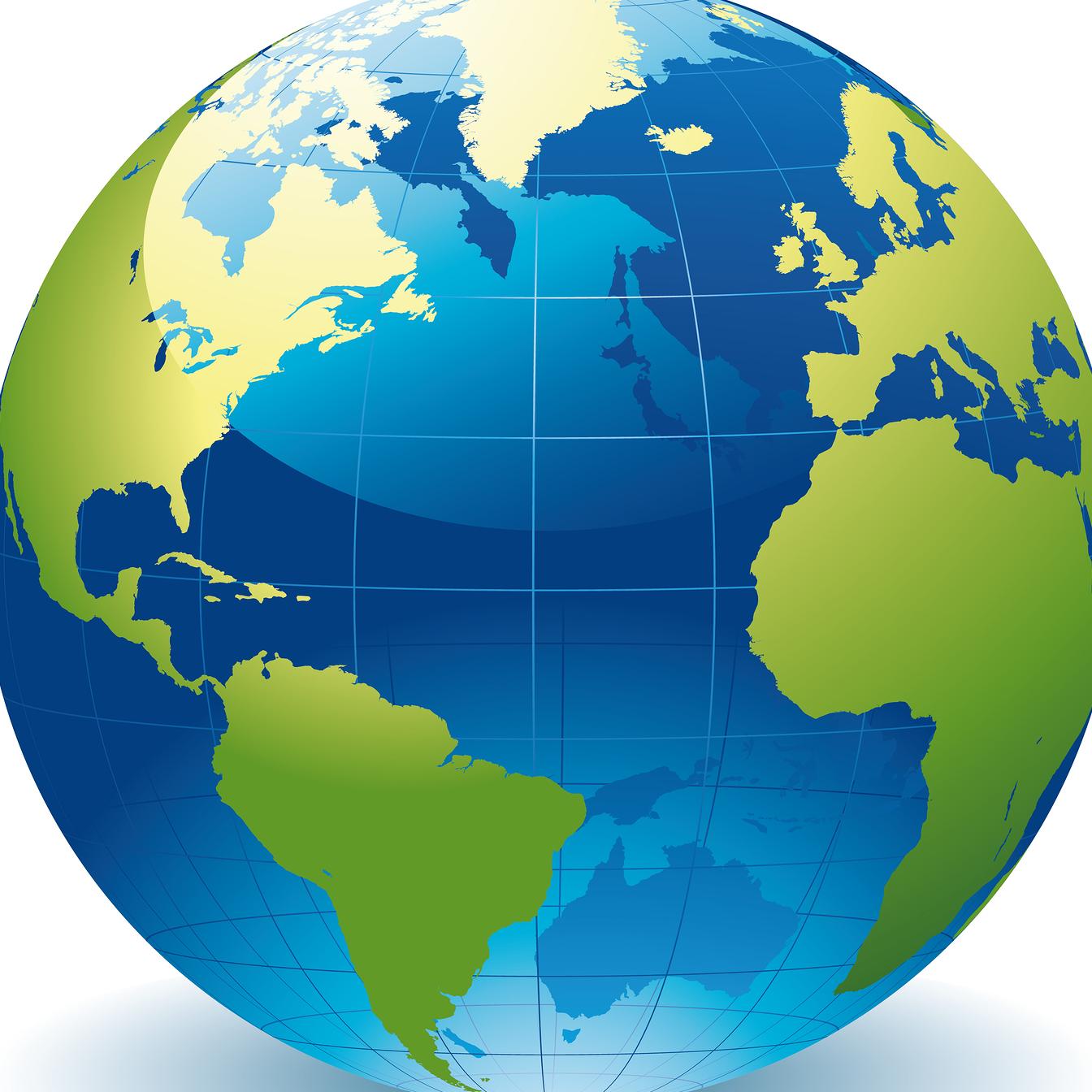 State capital group homepage. Clipart world globe europe