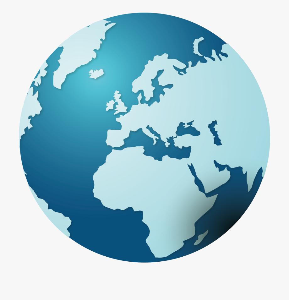 Clipart world globe europe. Clip art creative transprent