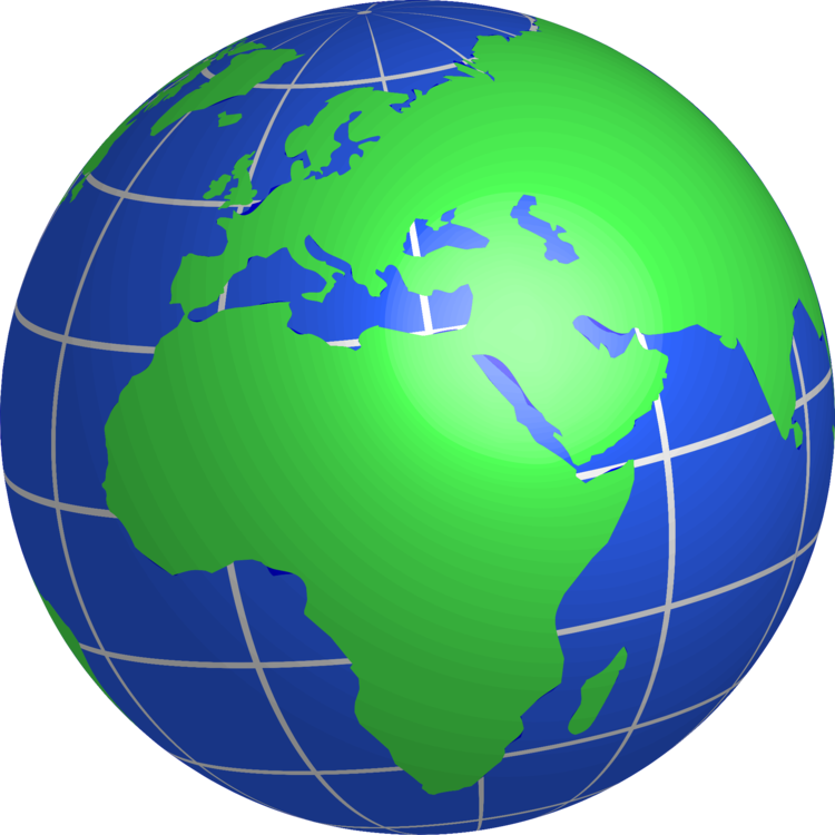 Ball globe sky png. Europe clipart earth planet