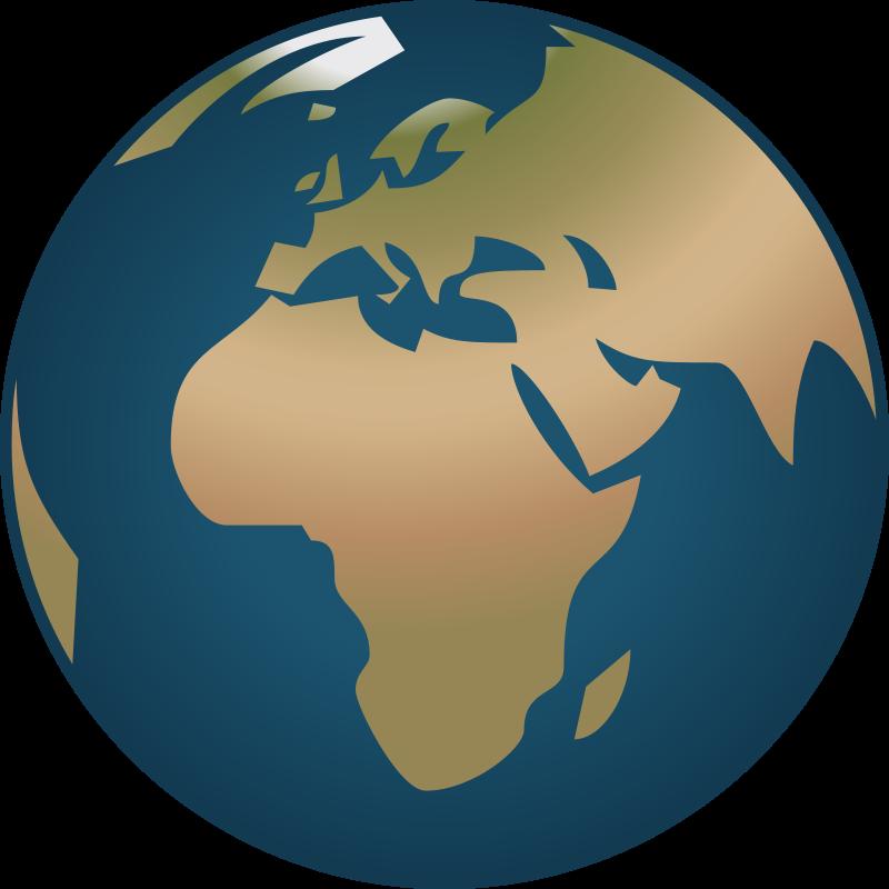 Free clip art simple. Europe clipart logo earth