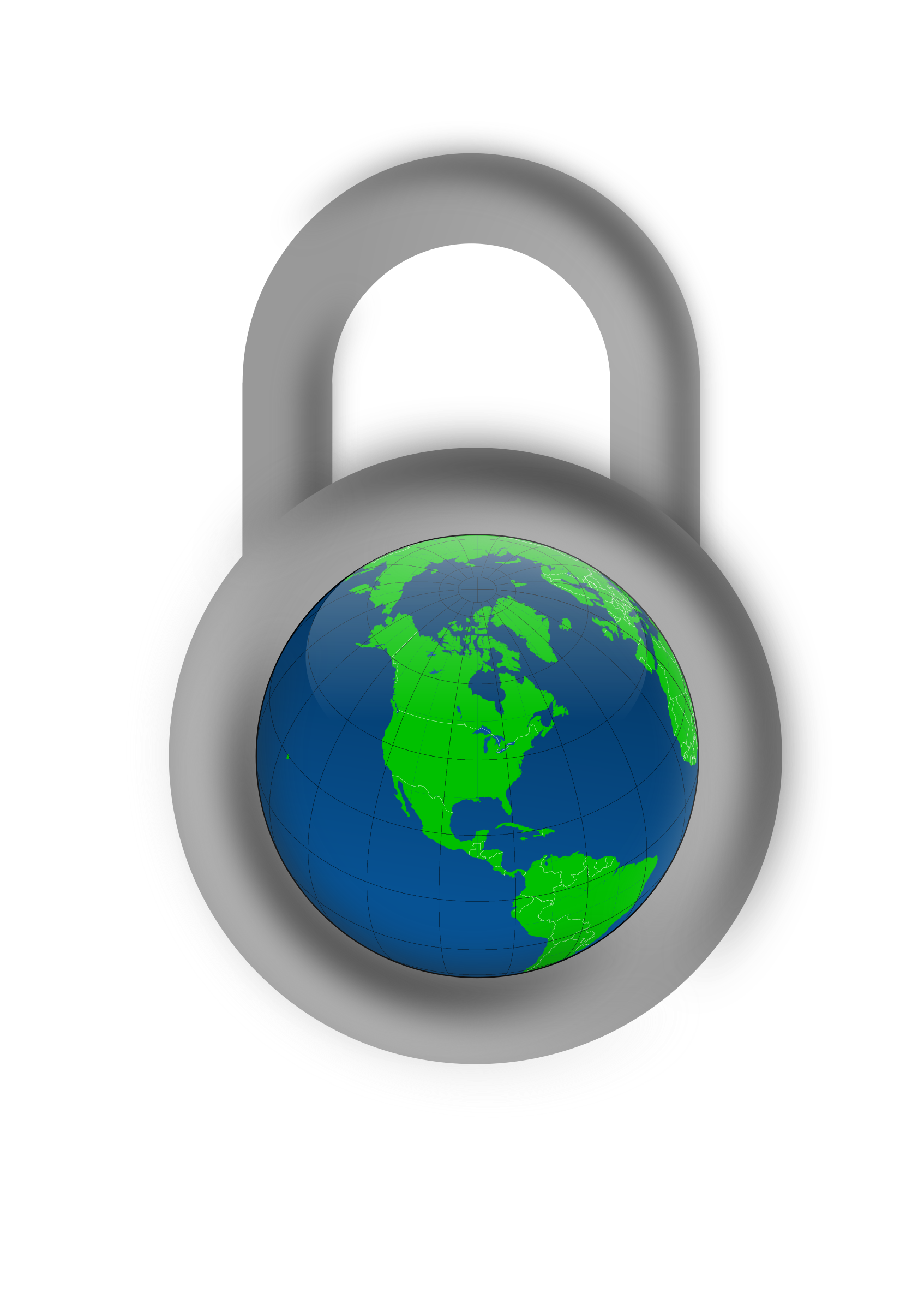 Secure about the big. Clipart world globe north america