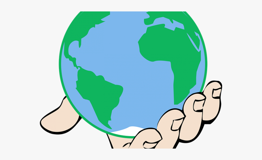 Ground earth in free. Clipart world hand clipart