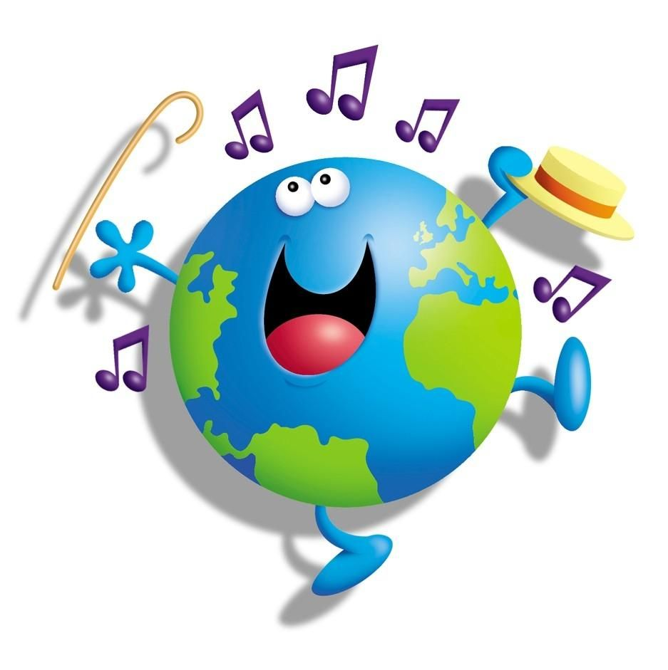 Music day languages and. Clipart world happy