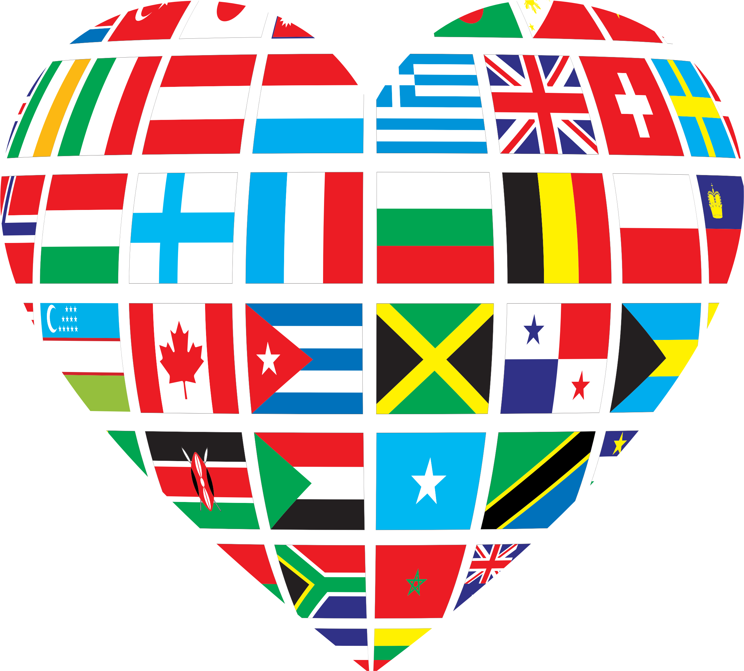 Heart big image png. Peace clipart issue global