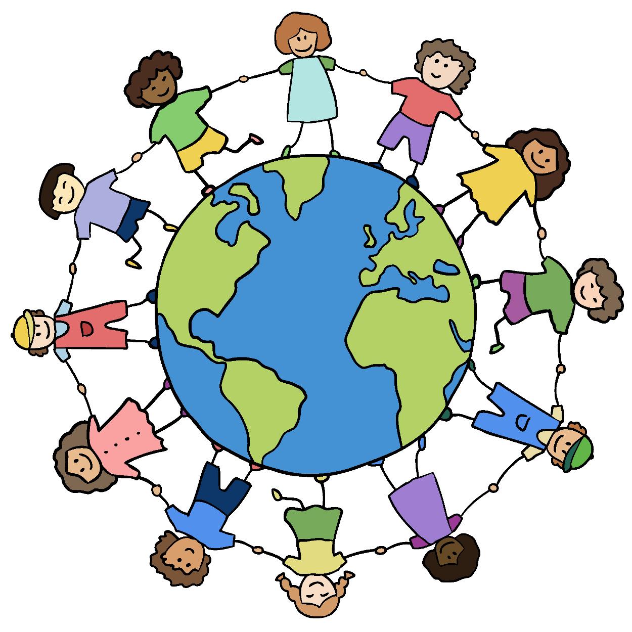 Clipart world holding hand around world. Testimonials parenting for a