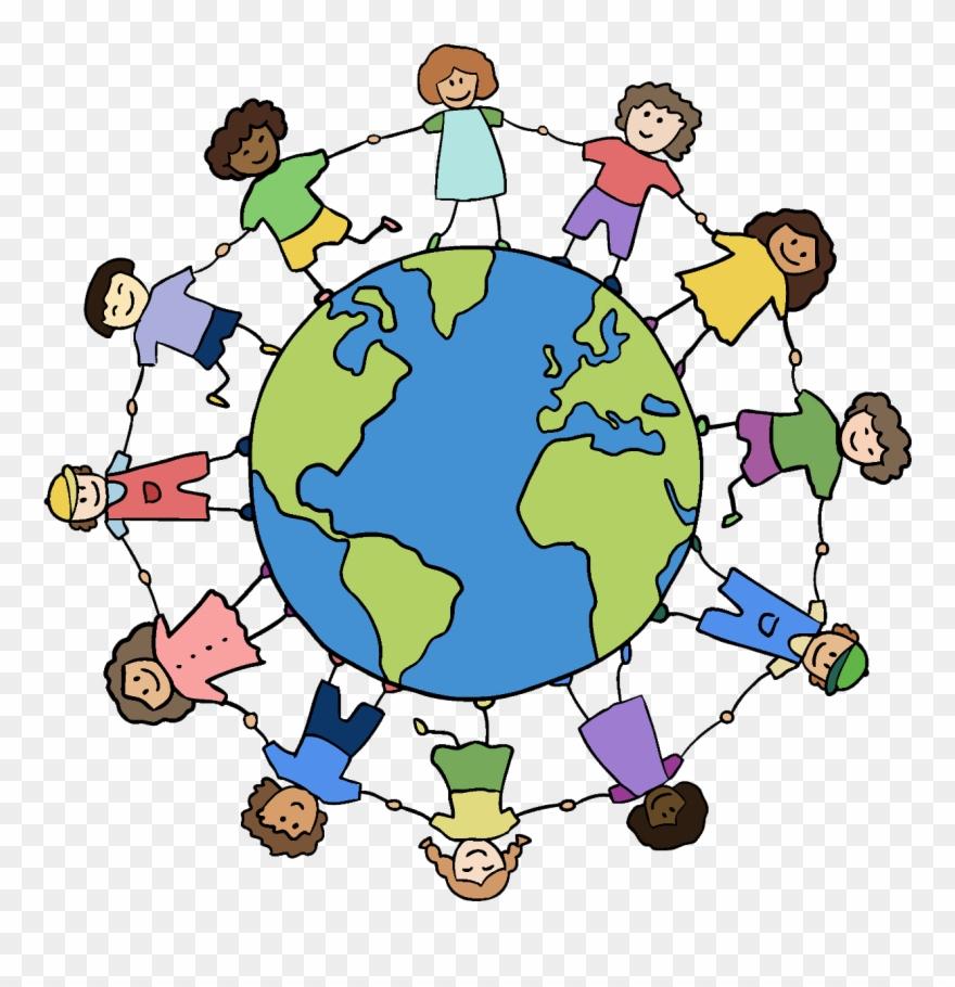 Hand around friends . Clipart world holding hands