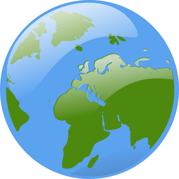 Clip art at clker. Clipart world home earth