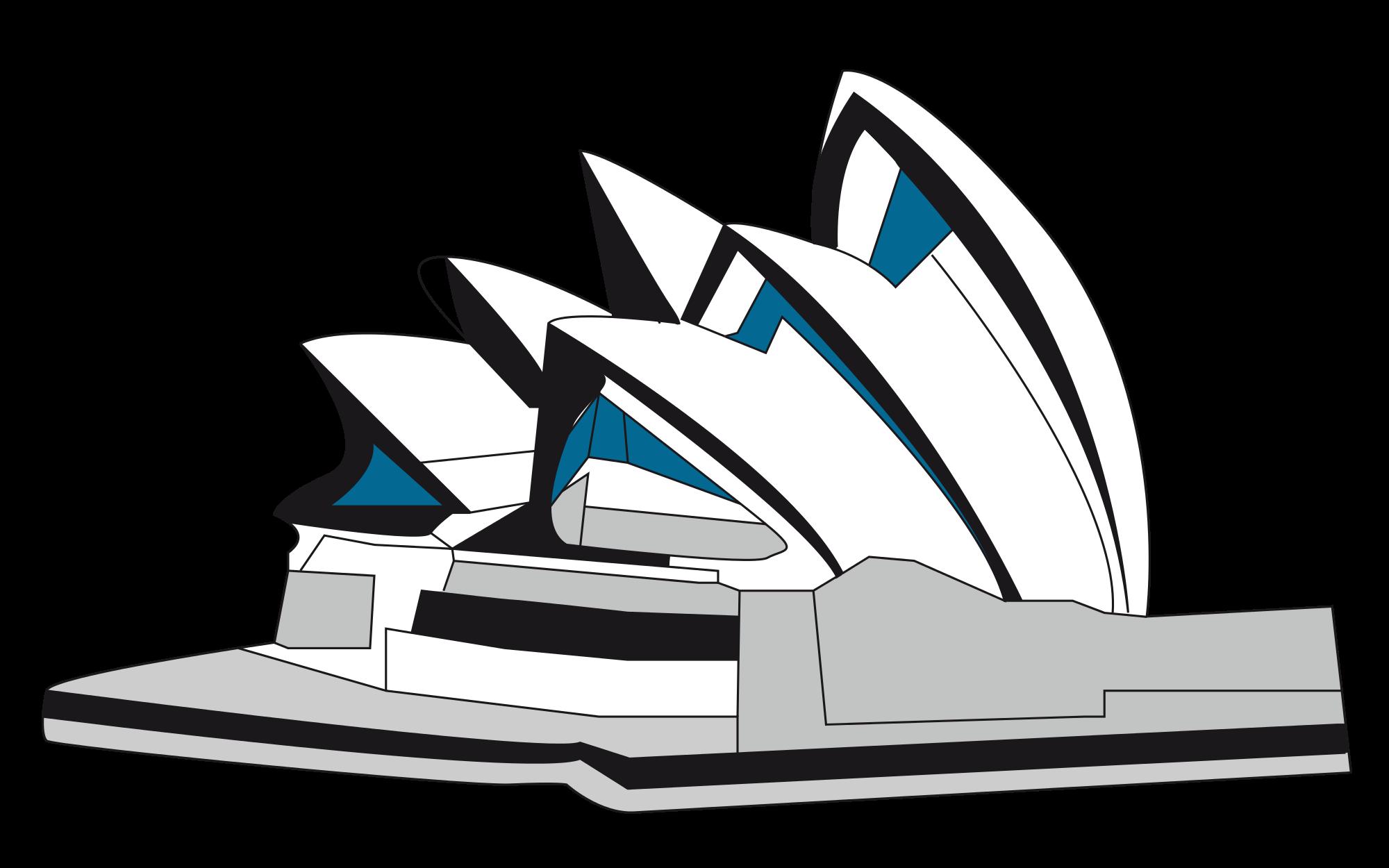 Clipart world landmarks. File icons sydney opera