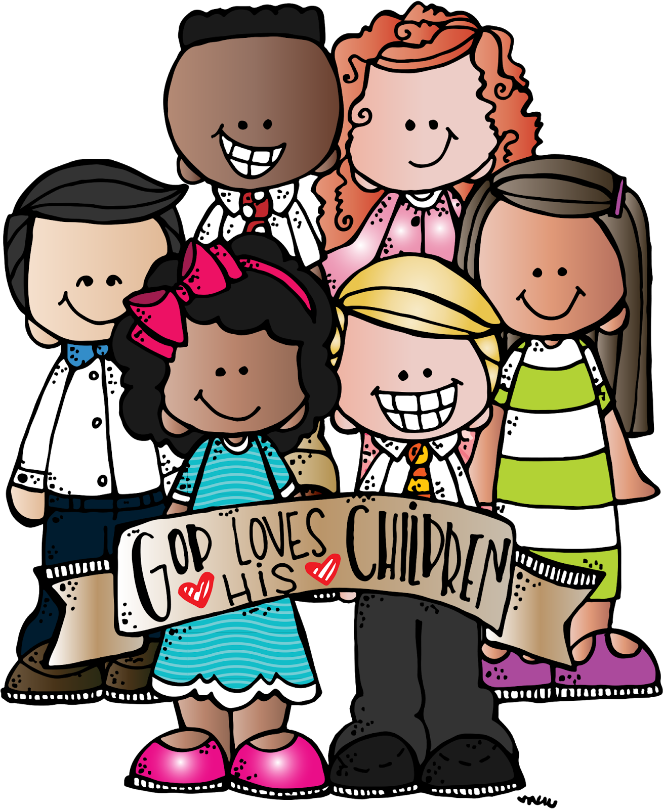 Lds clipart children's. Melonheadz illustrating primary helps