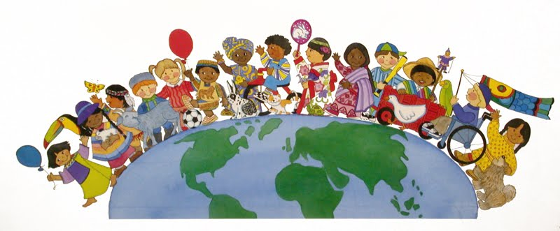 Clipart world multicultural. Free cliparts download clip