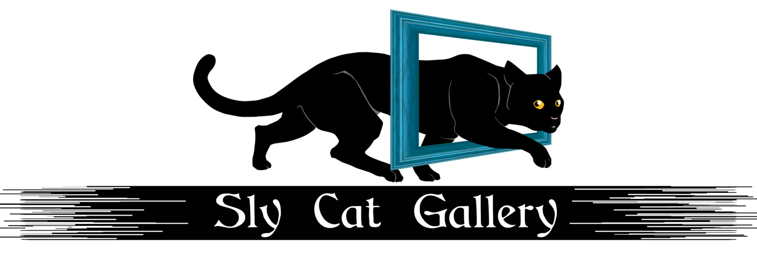 Sly cat gallery art. Clipart world natural world