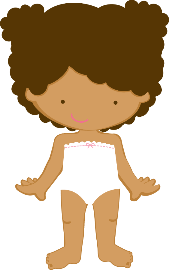 Clipart world paper doll. Costura e roupas zwd