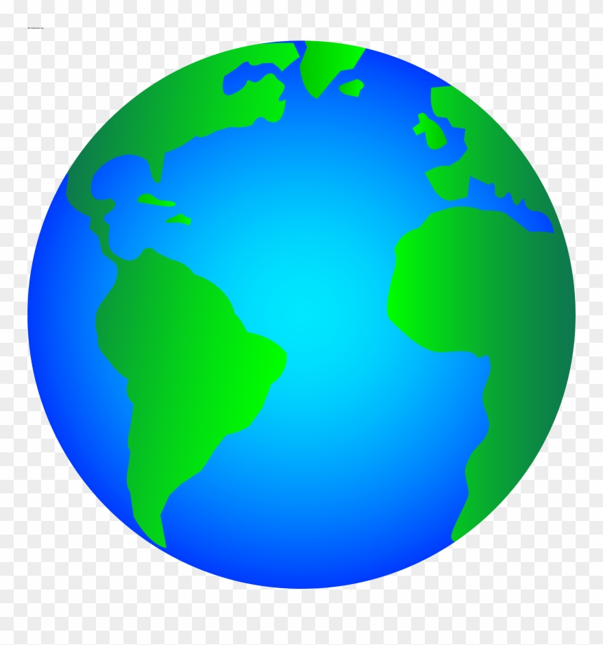 Planets clipart animated globe. Img clipartall com clip