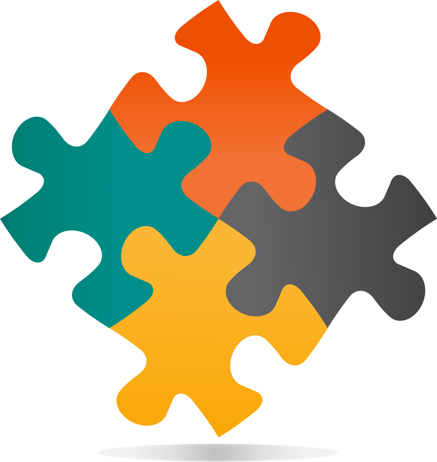 Jigsaw png transparent free. Puzzle clipart orange
