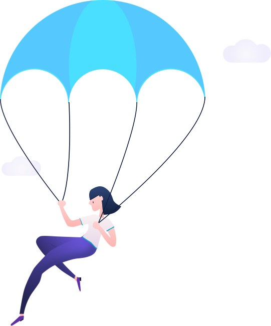 Clipart world real world. Playbook story parachuter the