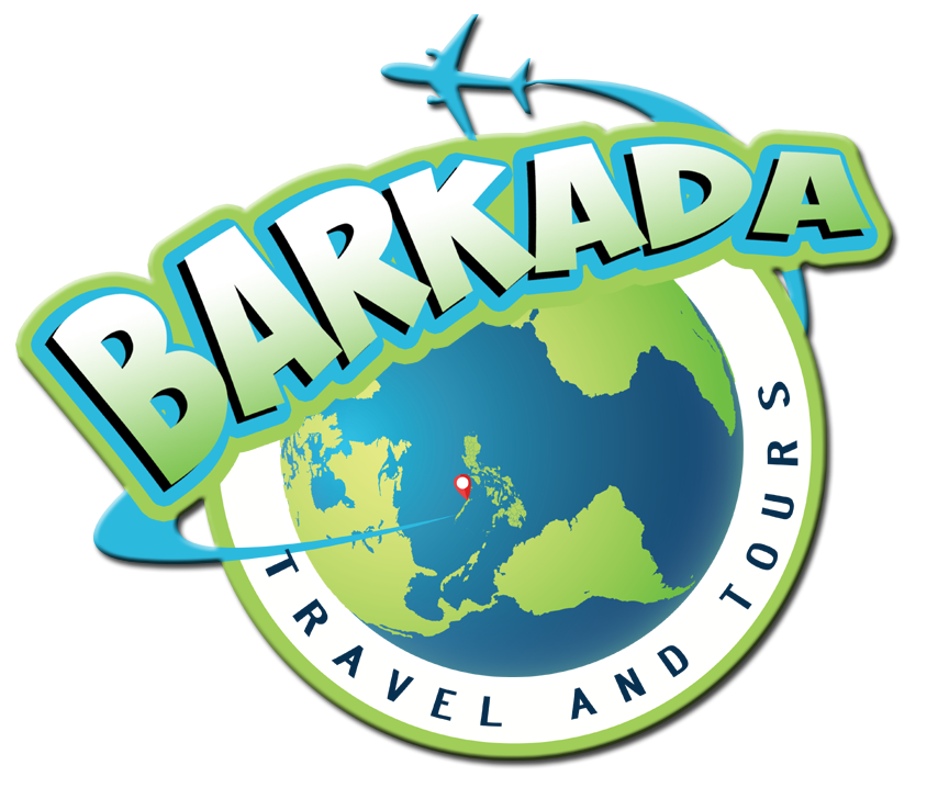 Barkada travel and tours. Clipart world round trip