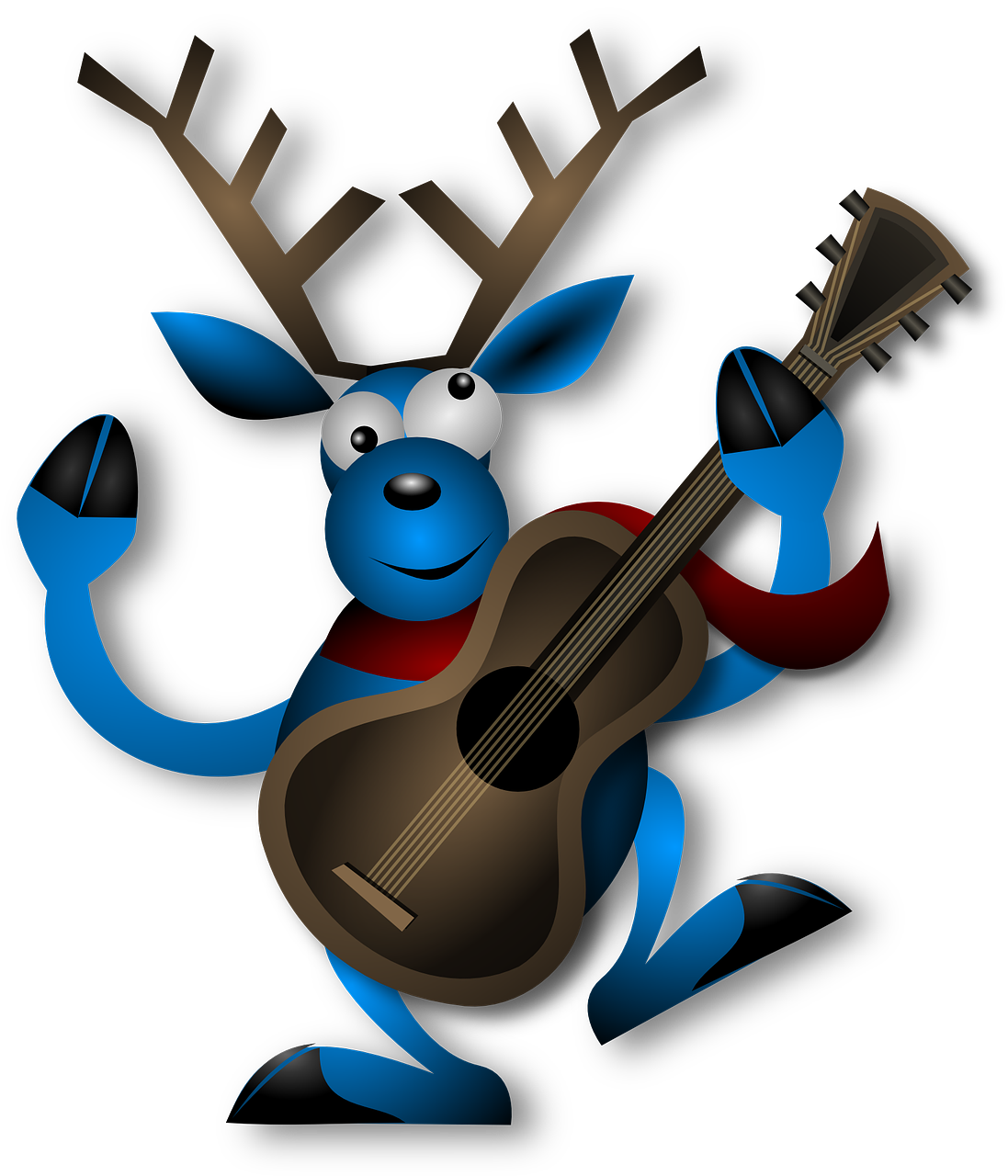 Christmas scavenger hunts are. Hunting clipart vector element