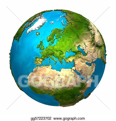 Drawing gg . Europe clipart earth planet