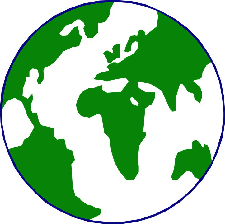 Circle map clipground free. Clipart world vector