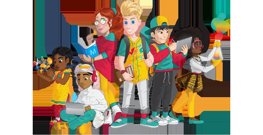 Meet team weg p. Clipart world world education