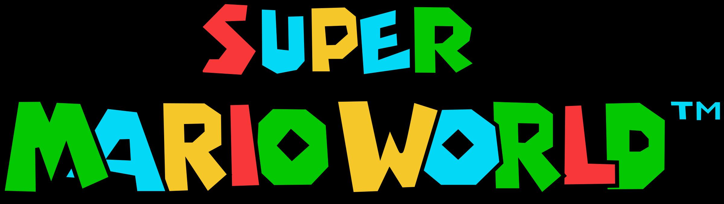 Clipart world world logo. Super mario png transparent