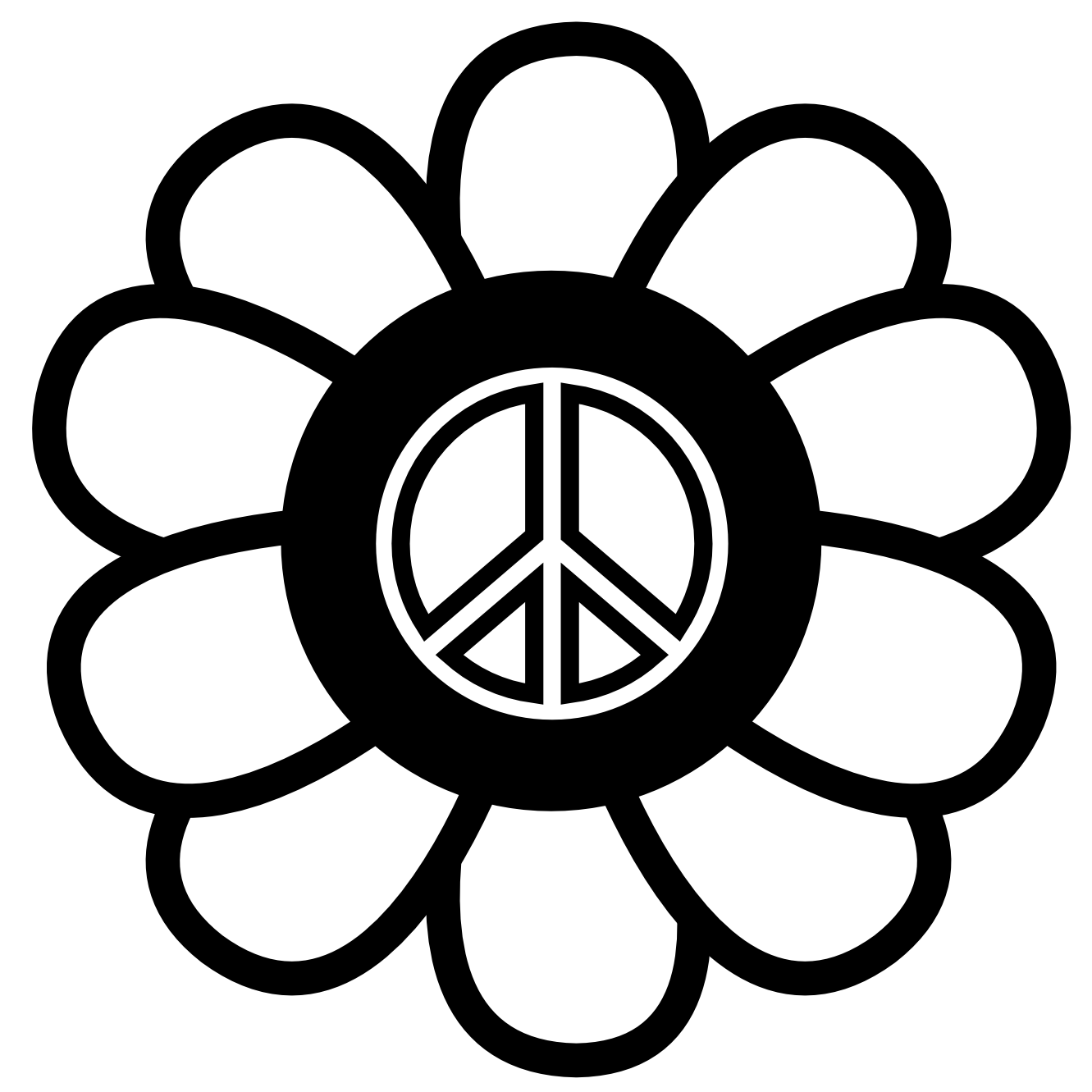 World drawing at getdrawings. Hippie clipart peace quiet