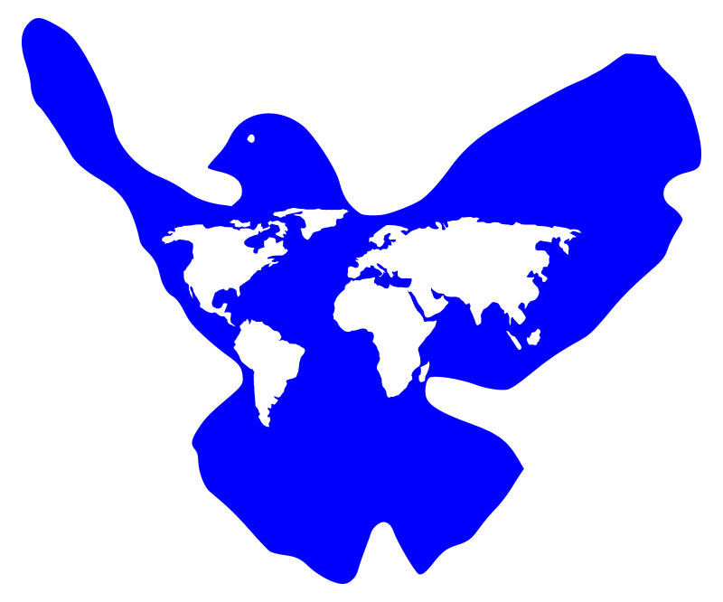 Clipart world world peace. Dove medium image png