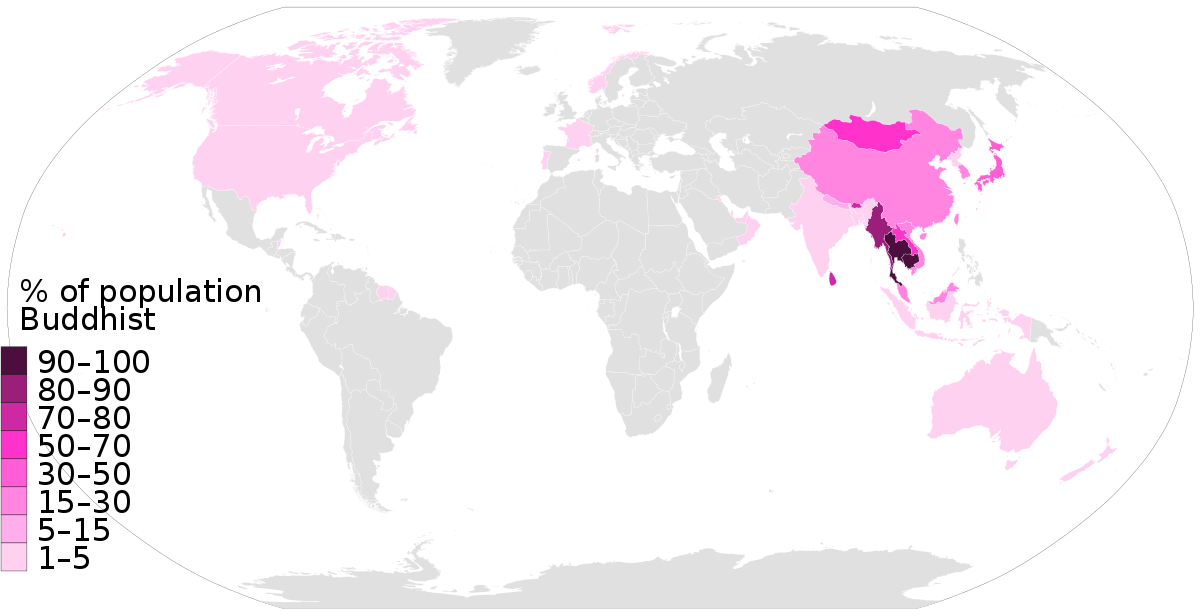 Human clipart world population. Buddhism by country wikipedia