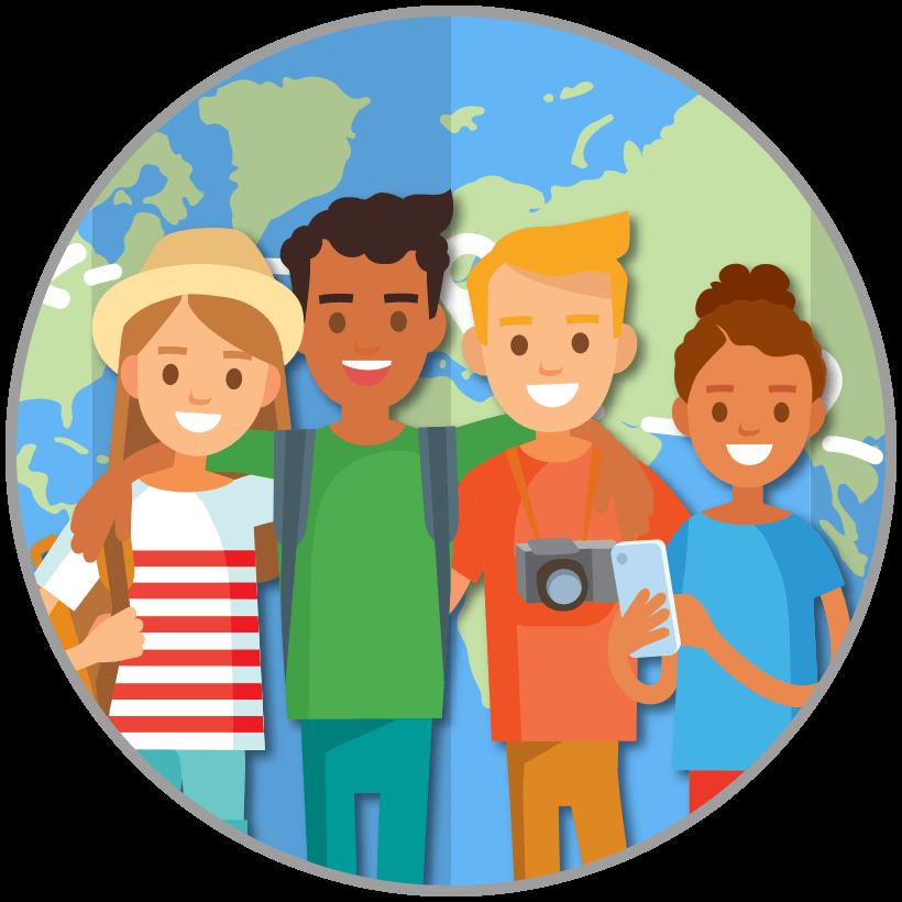Clipart world world traveler. The guideadvisorcom puts guides