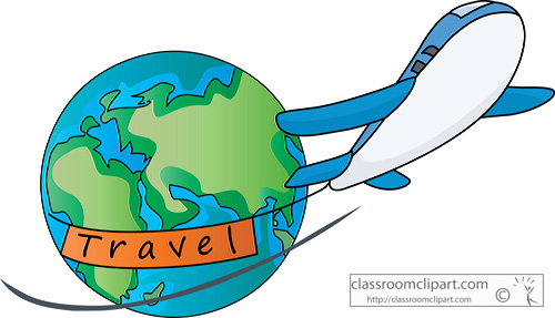 Flying clipart vaction. Free world traveler cliparts