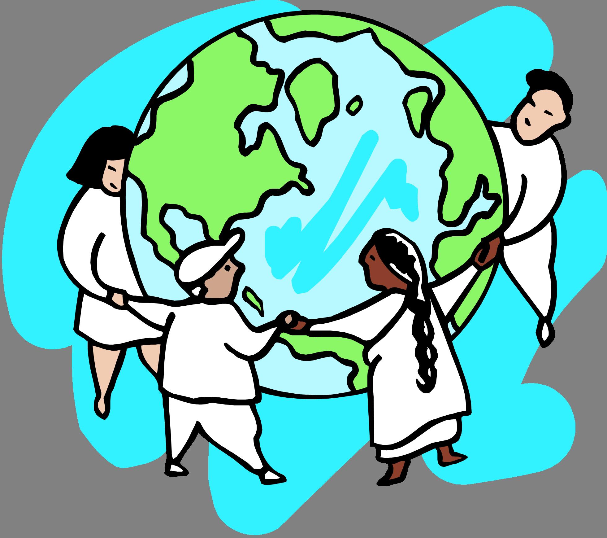 Clipart world world unity.  january christian week