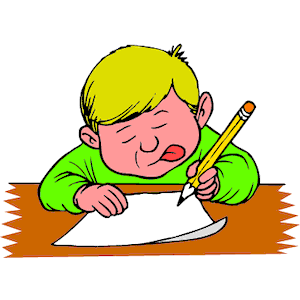 Free . Clipart writing