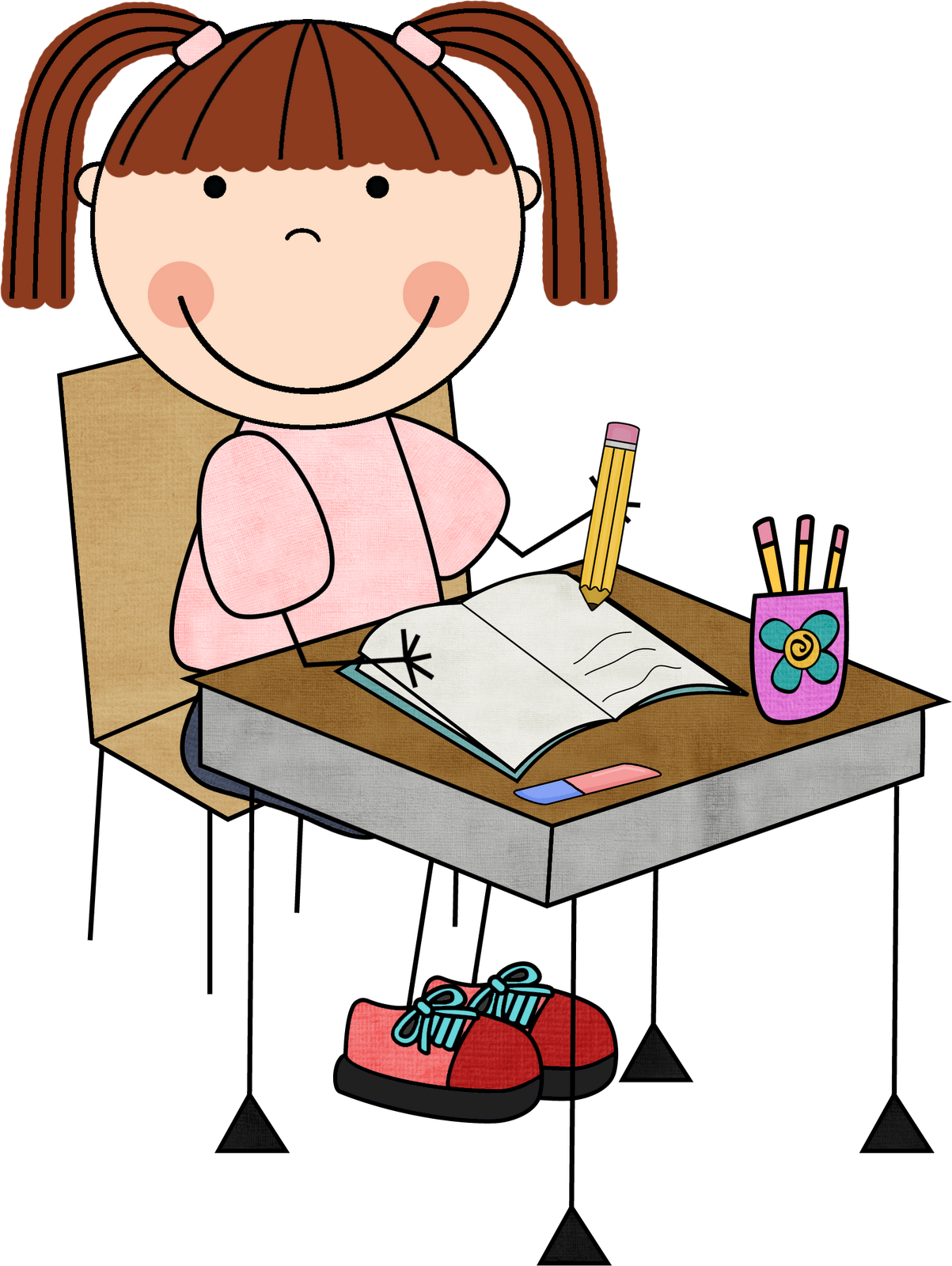 Clipart writing. Work on